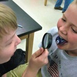 Students from Martin's Creek participate in DNA Day.
