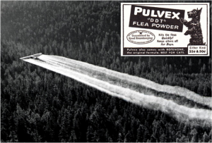 https://en.wikipedia.org/wiki/DDT#/media/File:1955._Fort_tri-motor_spraying_DDT._Western_spruce_budworm_control_project._Powder_River_control_unit,_OR._(32213742634).jpg https://www.flickr.com/photos/29069717@N02/15311199620
